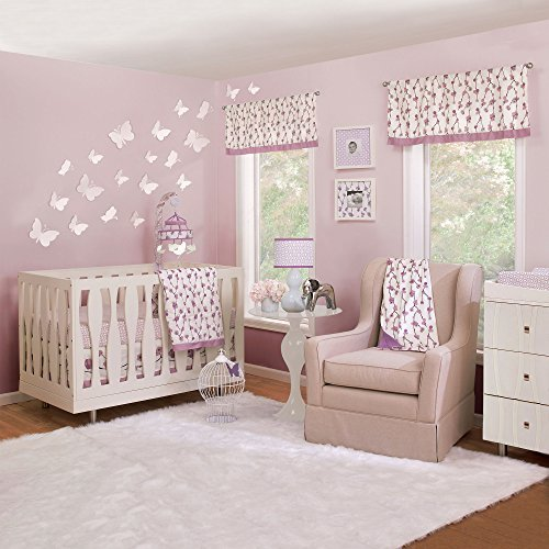Sophie 4 Piece Baby Crib Bedding Set by Petit Nest by Petit Nest by Farallon Brands