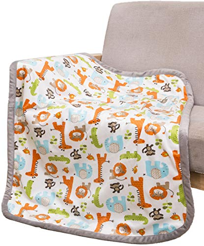 Breathable Baby Blanket Safari P...