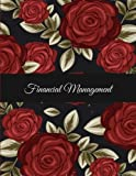 Financial Management: Rose Flowers, 12 Months Personal Budget Planner Large Print 8.5' x 11' Monthly Money Planner, Budget Planner Organizer: Spending ... Debt Repayment Plan, Bill Payment Tracker
