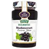 Stute No Added Sugar Diabetic Blackcurrant Jam (430g) - Pack of 6