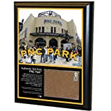 MLB Pittsburgh Pirates PNC Park 8x10-Inch Game Used Dirt Plaque Photomint