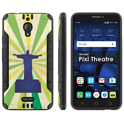 Mobiflare Shock Proof Armor Protection For Alcatel Pixi