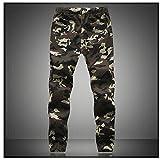 Miki Da Camouflage Military Jogger Pants Men NEW Pure Cotton Mens Spring Autumn Pencil Harem Pant Men Comfortable Trousers Camo Joggers Green 4XL