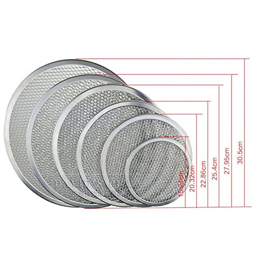 Wall of Dragon Flat Mesh Pizza Screen Oven Baking Tray Net Bakeware Cookware kitchen baking tool by Wall of Dragon (Image #5)