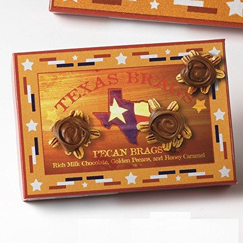 Sweet Shop USA Milk Pecan Brag Jr - 12 piece (7 Piece Pecan)