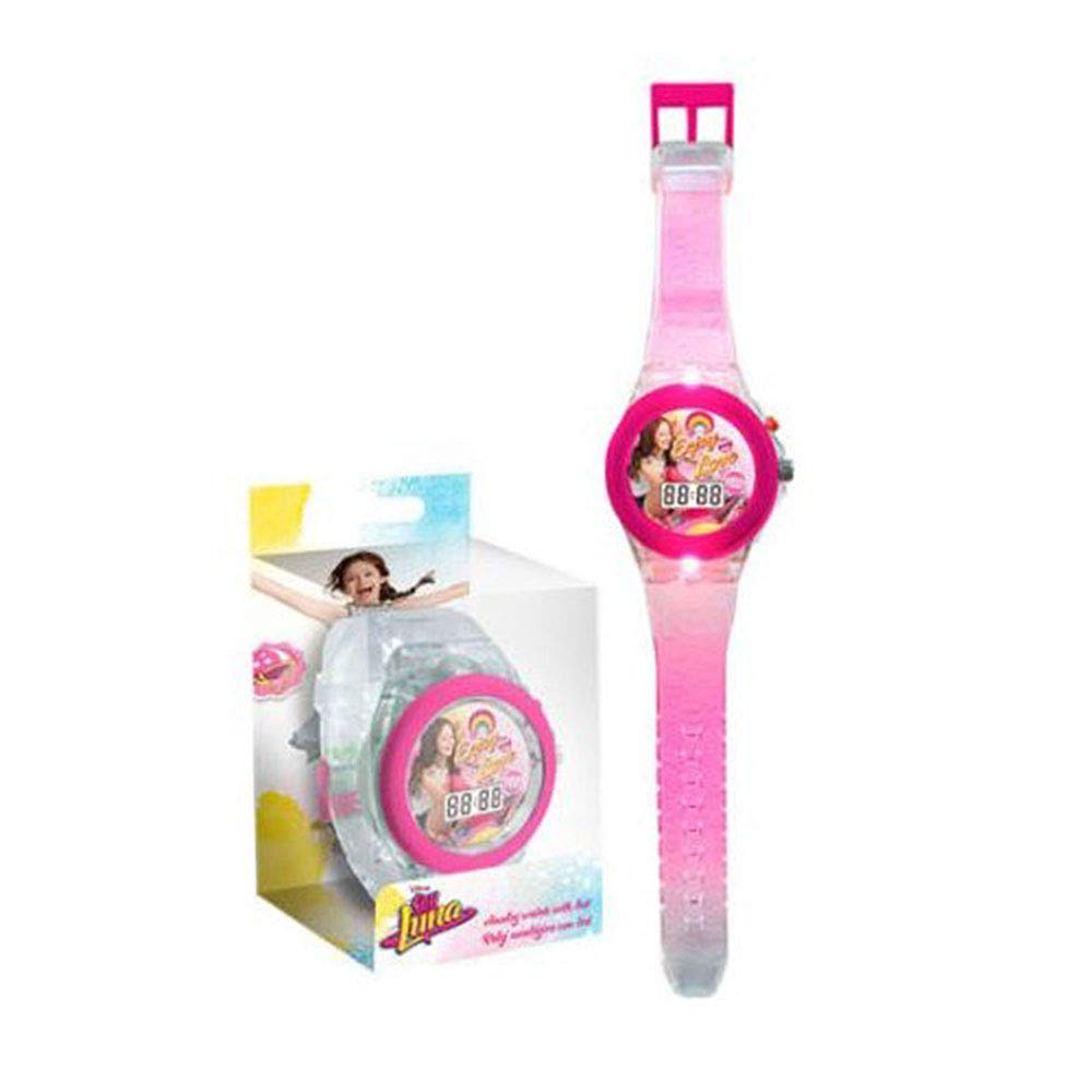 Amazon.com: Soy Luna Digital Watch with Led Disney Reloj Original: Toys & Games