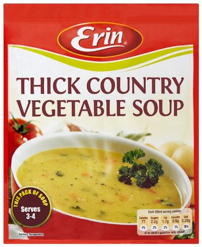 Erin Thick Country Vegetable Soup 60 g (Pack of 15)