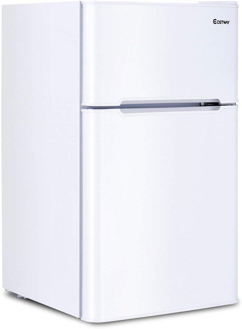 COSTWAY refrigerador compacto de 3.2 pies cúbicos, unidad de ...