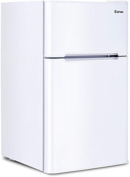 Amazon.com: Costway refrigerador para apartamento de 2 ...