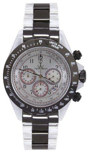 Toy Watch Heavy Metal - Black Chronograph Unisex watch #HM04BK