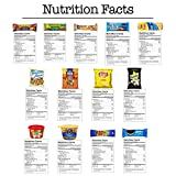 Deluxe Snacks Care Package (45 Count) - Chips, Cookies, Candy Assortment Bundle Gift Pack and Variety Box - CollegeBox