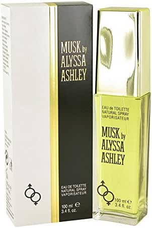 Alyssa Ashley Musk by Houbigant Eau De Toilette Spray 3.4 oz for Women