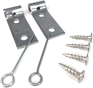 E.H.C Sofa Zig Zag Spring Repair Kit (2 Brackets) Includes All Hardware