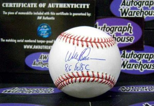 Wally Backman autographed baseball (New York Mets 1986 World Series Champions) insribed 86 WSC AW Certificate of Authenticity Hologram OMLB ()