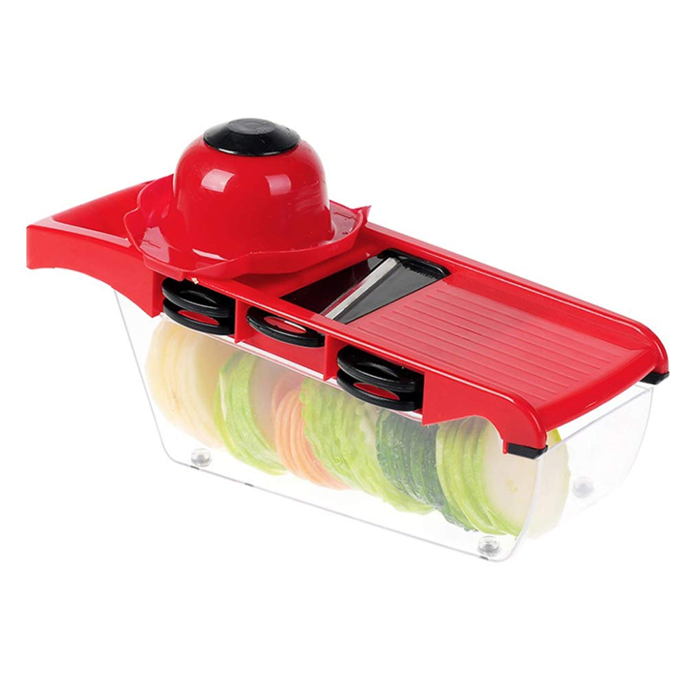 DENGSH Vegetable Slicer,Household Grater Cutter,Multi-Function Manual Fruit and Vegetable Cooking Device Convenience/A by DENGSH