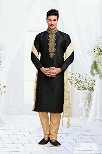 Kurta Pajama For Men Indian Ethnic Wedding Kurta Collections Exclusive Designer Dress by daindiashop-USA (Image #2)