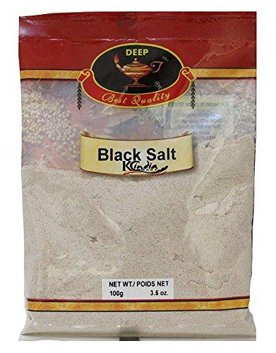 Deep Black Salt, 3.5 Ounce (Pack of 20)