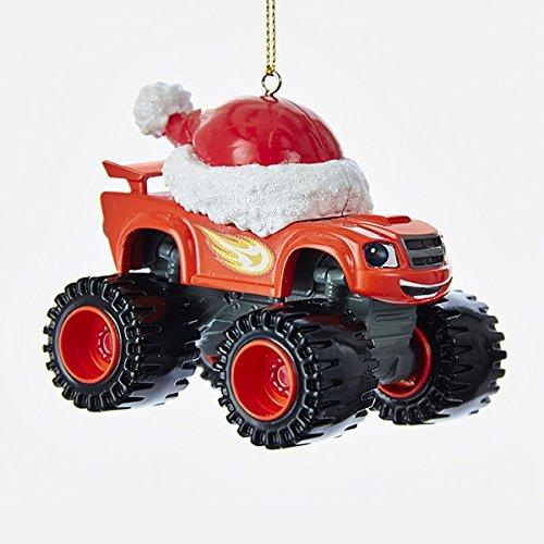 Kurt Adler 3.5-Inch Blaze Truck Christmas Ornament (Car Ornament)