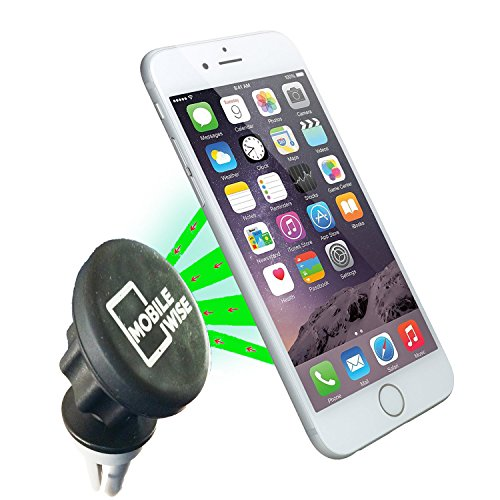 Universal Cradle-Less Magnetic Air Vent Car Mount, Adjustable 360 Degree Rotating Angle Arm Holder