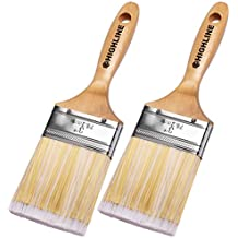 "2 Pack - 3"" Wide HIGHLINE Premium Bristle Paint Brushes"
