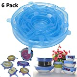 iPstyle Kitchen Home Silicone Stretch Lids Durable & Expandable Reusable ...