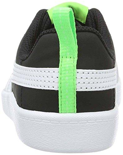 Puma Courtflex Ps, Zapatillas Unisex Niños Negro (Black-white)