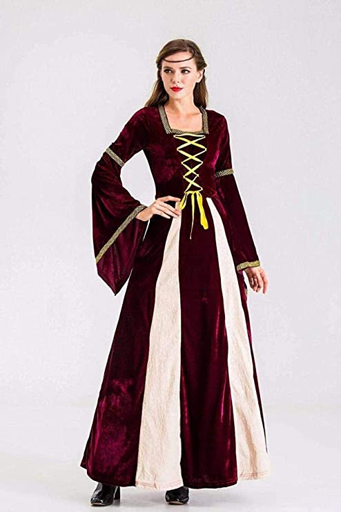 Disfraz De Halloween Princesa Reina Disfraz Roleplay Retro Falda ...