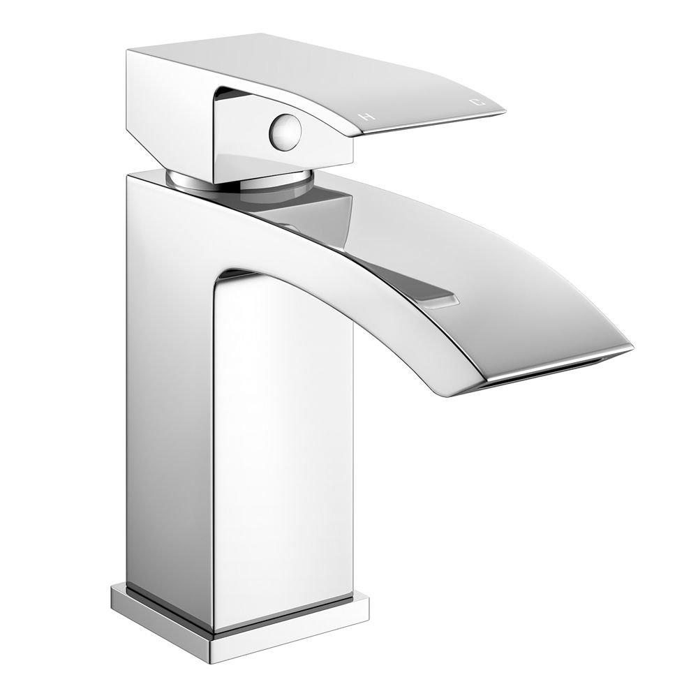 Home Standard Diamanti Bathroom Chrome Basin Sink Mixer & Bath Filler Mixer Tap Package   10 Year Guarantee