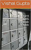SharePoint 2016 Sneak Peek: SharePoint 2016 Sneak Peek Front Cover