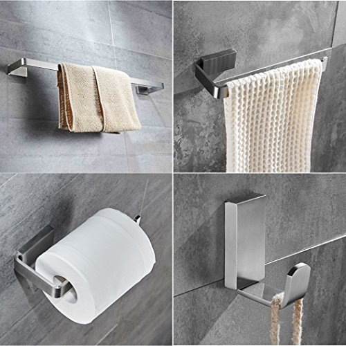 Velimax SUS 304 Stainless Steel 4-Pieces Bathroom Accessorie