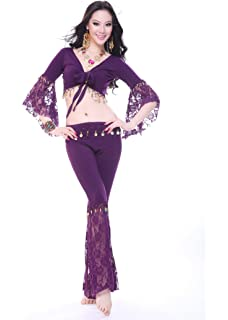 8c88025631f87 パープル 紫 大きいボレロ 2XL 3L ベリーダンス 衣装 練習着 レッスン着 レッスンウェア ステージ衣装 フィットネス ヨガウェア belly…