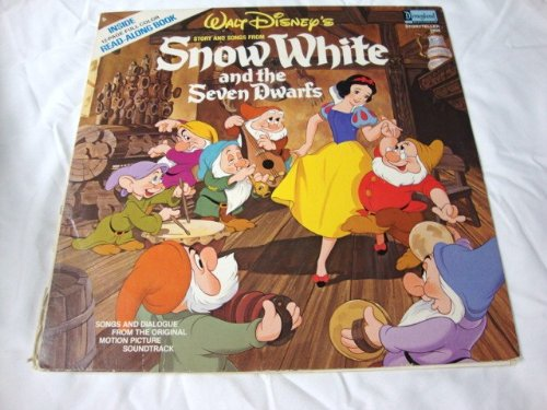 Walt Disney's Snow White and the Seven Dwarfs Vinyl Record