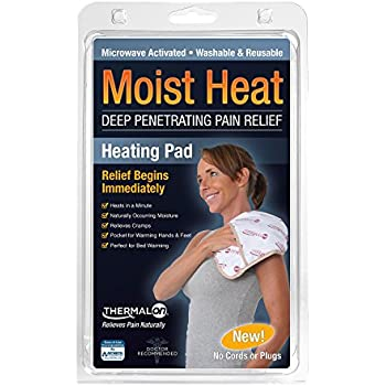 Thermalon Microwave Activated Moist Heat Pad for Shoulder, Abdomen, Back, Hip, 9