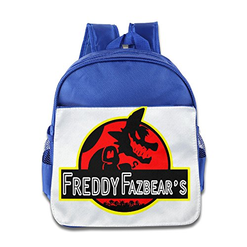 [XJBD Custom Personalized At Freddy Kids Children Schoolbag For 1-6 Years Old RoyalBlue] (Smurf Costume 2 Year Old)