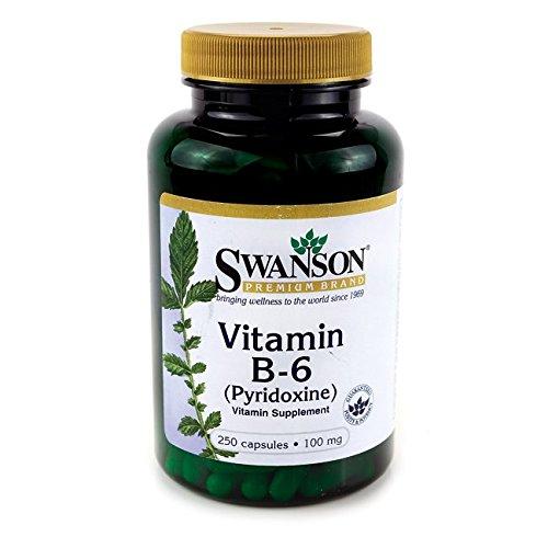 Swanson Vitamin B 6 Pyridoxine Caps