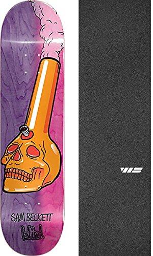 マイクロプロセッサ効果的アンカーBlind Skateboards Sam Beckett Bonged スケートボードデッキ Resin-7-8.5インチ x 32インチ Jessup WSダイカットグリップテープ付き 2個セット
