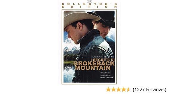 Brokeback montagna gay sesso scena