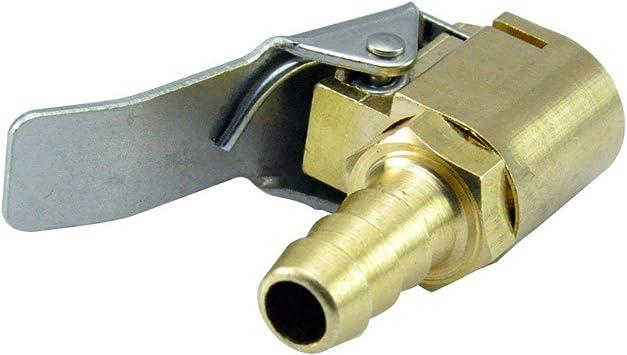"One Brass Lock On Tire Inflator Locking Air Chuck Air Hose Attachment 1//4/"" NPT"