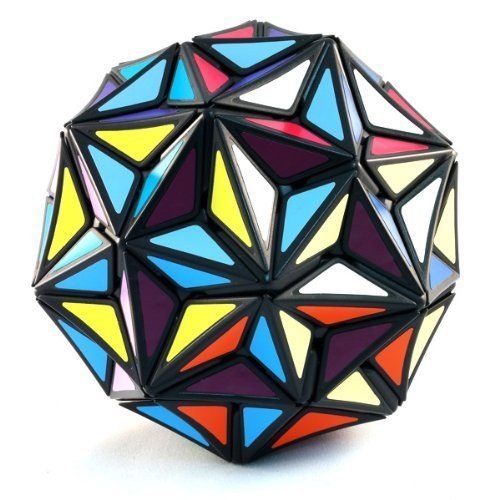 Price comparison product image Superstar Very Puzzle Black Puzzle Cube Twisty Toy NEW (Edge Only Tuttminx)