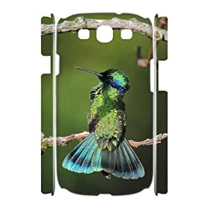 Diy Hummingbird Phone Case for samsung galaxy s3 3D Shell Phone JFLIFE(TM) [Pattern-2] hjbrhga1544