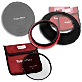 WonderPana 145 Essentials Kit - 145mm Filter Holder, Cap & CPL Filter for 14mm Full Frames (Samyang, Rokinon, Polaroid, etc.)