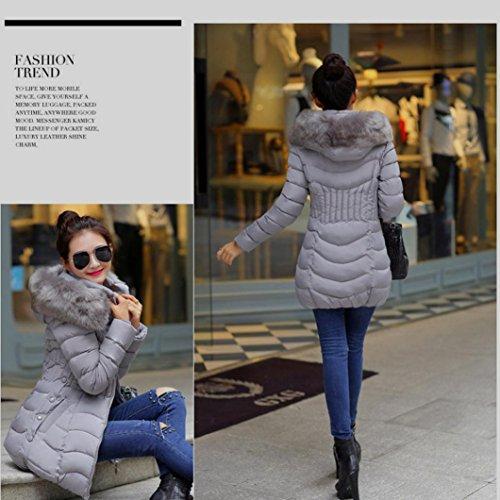 Mode zycshang Womens Hiver Jacket Manteau Femme Longue La HqSFw4pxU