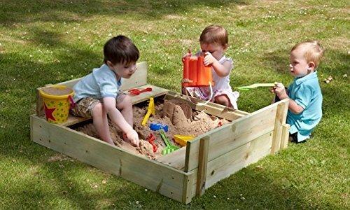 Spielsachen Holz Mit Deckel Sandkasten