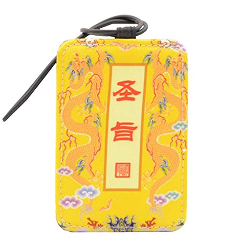 Chinese Style Luggage Tag Suitcase Luggage Tag Travel Luggage Tag #4 by Black Temptation