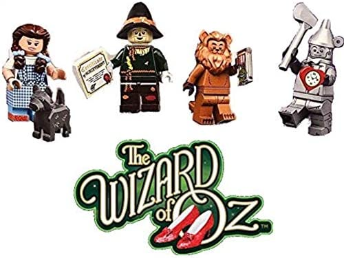 LEGO The Movie Series 2 Wizard of Oz Minifigures - Dorthy, The Tin Man, Scare Crow, The Cowardly Lion (71023)
