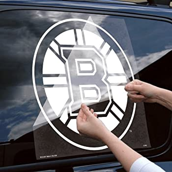 Amazon.com: Wincraft Boston Bruins 18x18 Die Cut Decal - Boston ...