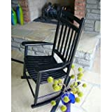 Adult Rocking Chair Finish: Black