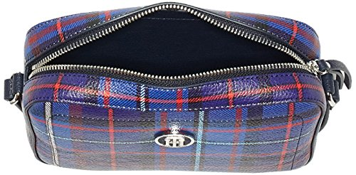Tommy Hilfiger Effortless Novelty Camera Bag Print - Borse a tracolla Donna, Blau (Tartan), 5x18x23 cm (B x H T)