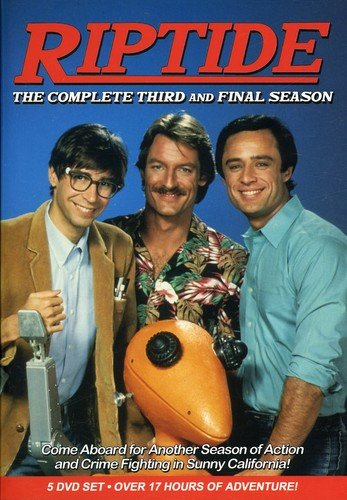 DVD : Riptide: The Complete Third and Final Season (Canada - Import, NTSC Format, 5 Disc)