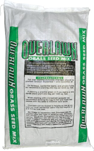Overlawn Overseeding Mix, 25-Pound (Speedy Green 3000 Settings For Grass Seed)